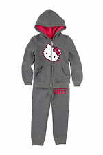 HELLO KITTY ACTIVE SET GREY LITTLE GIRLS 5T