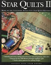 Quilt Instruction & Pattern Book-STAR QUILTS II-More Kansas City Star Quilt Patt