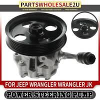 Power Steering Pump w/ Pulley for Jeep Wrangler 12-17 Wrangler JK 2018 5154400AC