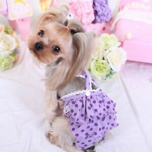 Simply Style Pet Dog Panties With Hygienic Adjustable Diaper Physiological Pants