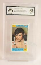 Rare 1970 Panini Johnny Famechon Card Graded Pristine