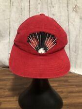 Fallen Broken Street Millinery Custom Made Red Cap Hat SnapBack One Size