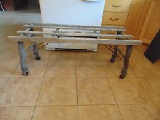 vintagE / ANTIQUE clothes washing woden tub bench   #  3352