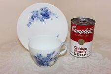 Royal Copenhagen Blue Flower Cup & Saucer Set, #1870, Denmark, Mint