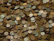 1 Lbs Pound Wheat Penny Cents Wholesale Lot , 1909-1958 Pds , Us Copper Coins!