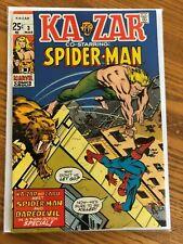 Ka-Zar #3 - Co-Starring Spiderman (1970, Marvel) FN+