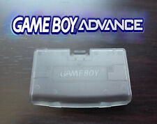 Cache Piles GameBoy Advance Transparent GBA Battery Cover clear