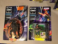 Lot of 2 Alien Queen & Ripley Action Figures Kenner