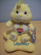 Care Bear Coleccionable 20th Anniversary Edition 2003 + Etiqueta Original Oso de cumpleaños