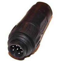 Amphenol ecomate Kabel-Stecker 6-polig + PE