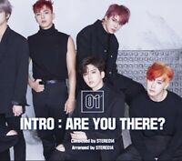 MONSTA X: Are You There* Take 1 Album* CD+Full Package Poster (Star Ship) K-POP