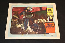 1958 Witness for the Prosecution Lobby Card #6 Tyrone Power 58/68 (C-5)