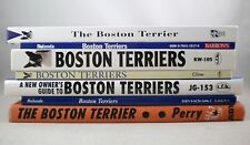 Lot of 7 Books on BOSTON TERRIERS - Dogs Breeds Pets Canines Pet Owners