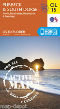 Purbeck and South Dorset Explorer ACTIVE Map - OL 15