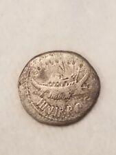 The Triumvirs. Mark Antony. Autumn 32-spring 31 BC. AR Denarius (17mm, 3.20 g, )