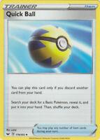 4x Quick Ball 179/202 Sword & Shield Pokemon Playset x4 Uncommon NM