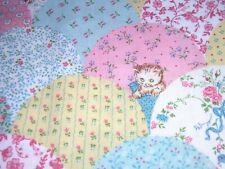730J Vintage CATS KITTENS Cheater Quilt Cotton Fabric JOAN KESSLER CONCORD 1YD