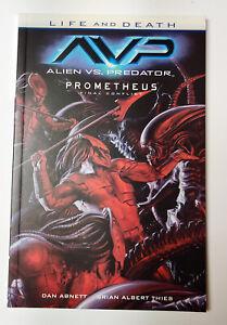 ALIEN VS PREDATOR LIFE & DEATH TPB (2015, Dark Horse Comics) NEW OOP