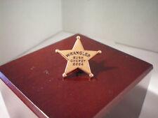 Wrangler Bush Cheney 2004 Lapel Pin Political