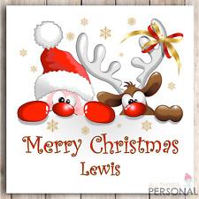 Personalised Christmas Card Son Daughter Grandson Granddaughter Niece Nephew Sis
