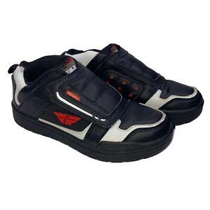 Fly Transfer SPD Clipless BMX Shoe Black White Red, (Size 10 10.5  11 Read Desc)