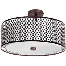 Dainolite 1015-16Fh-Vob Semi-Flush Ceiling Fixture-Vintage Oiled Brushed Bronze