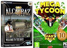 Alcatraz Tycoon & Mega Tycoon Giant Pack Neu & Versiegelt