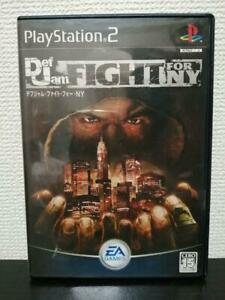 USED PS2 DEF JAM FIGHT FOR NY Sony Playstation2 JAPAN Import