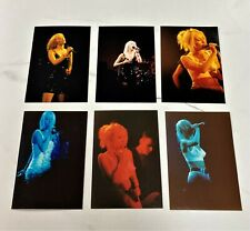 More details for wendy james transvision vamp set of six (6) colour concert photographs 1990's 3