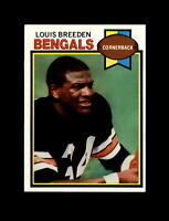 1979 Topps Football #474 Louis Breeden (Bengals) NM+