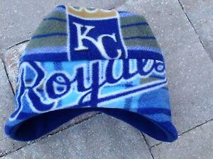 Kansas City Royals EarFlap Fleece Hat Newborn Baby Boys Girls Adult Men & Women