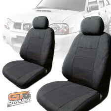 Nissan Navara CHARCOAL D22 DX / ST-R Custom Made Seat Covers F+R 04/1997-2015