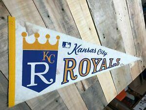 Kansas City Royals 1970s era Team Logo MLB baseball Pennant  cool design