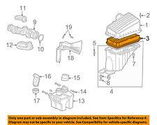 HONDA OEM 02-04 Odyssey Engine-Air Filter Element 17220P8FA10