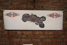 Frazer Nash shelsley TC grande lavoro in pvc Negozio Banner Garage