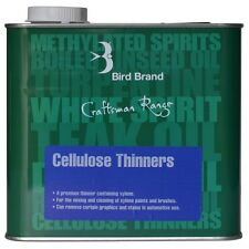 Bird Brand Cellulose Thinners 500ml For Cleaning of Xylene Paints & Brushes