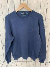 Polo Ralph Lauren Pima Cotton Crew Neck Sweater Men's XL Blue