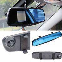 "Car DVR Video Rearview Mirror Traffic Recorder 2.8"" HD Vision Camera Tachograph"