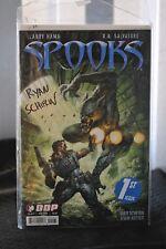 Rayan Schifrin Spooks comic #1 signed