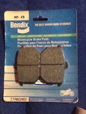 Bendix MA49 Organic Road Harley Davidson Motorcycle Rear Brake Pad
