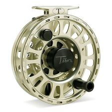 Tibor Signature Fly Reel, Size 9/10, Satin Gold, NEW!  FREE FLY LINE!