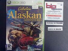 CABELA'S ALASKAN ADVENTURE XBOX 360 PAL ITA NUOVO SIGILLATO