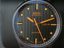 MIDO MULTIFORT MEN'S WATCH AUTOMATIC SAPPHIRE IP BLACK ROU SWISS M0054303705102