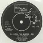 Frank Wilson - Do I Love You record label sticker. Tamla Motown. Northern Soul