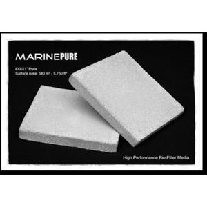 "CerMedia Marine Pure 8x8x1"" Bio Filter Media - Single Plate"