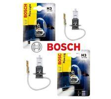 2x BOSCH Pure Light H3 12V 55W Halogen Auto Lampe Original 1987302031 WOW!!!