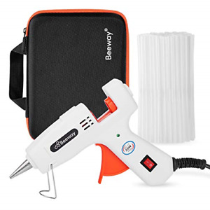 Beeway® Hot Glue Gun with Carrying Case and 50pcs Glue Sticks