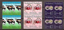 Nederland - 1974 - NVPH 1052-54  in blok van 4 - Postfris - NE030