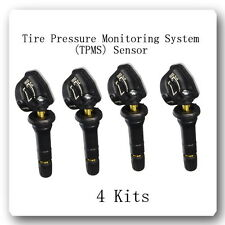 4 Kit Tire Pressure Monitoring System (TPMS) Sensor FIts: Most GM Cars 2007-2017