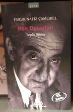 HAN DUVARLARI FARUK NAFIZ CAMLIBEL Toplu Siirler  TURKISH BOOK   Turkce  kitap